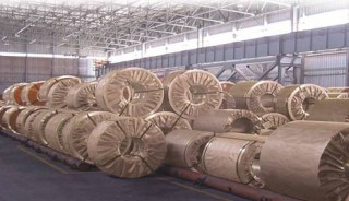 Steel wrapper - kraft paper laminated the VCI – PE coated PP woven fabric