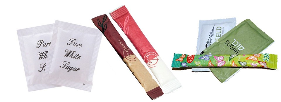 Pe coated paper for sugar
