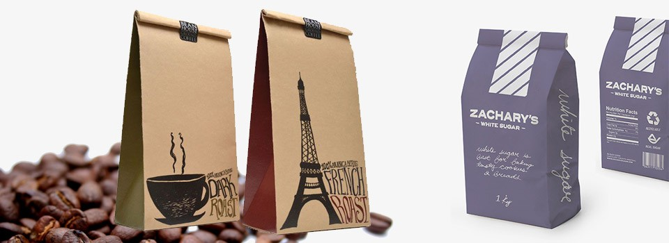 Coffee kraft paper bag